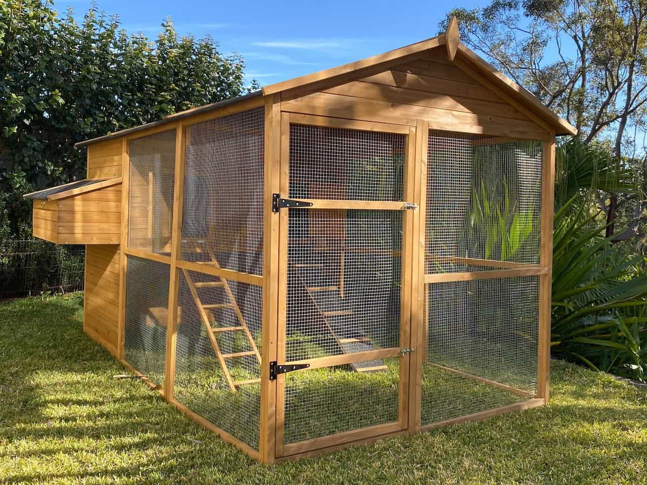 Somerzby Homestead Cat Enclosure