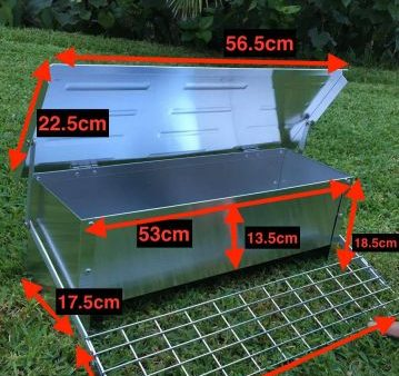 Automatic chicken feeder dimensions