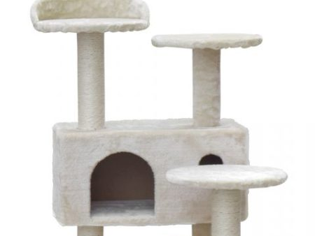 Castle cat scratching post
