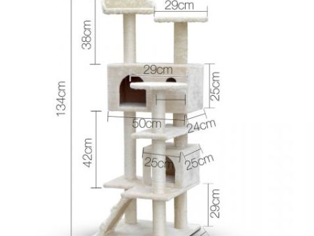 Castle cat scratching post dimensions