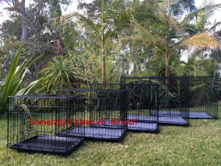 Dog Crate comes in 5 different sizes