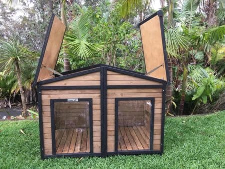Large Solid Wood Dog Houses