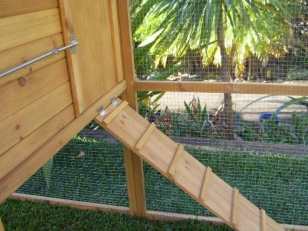 manor rabbit hutch ramp