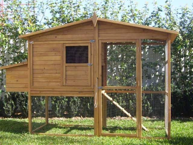 Manor rabbit hutch