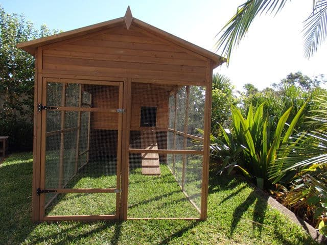 Side view of Catio