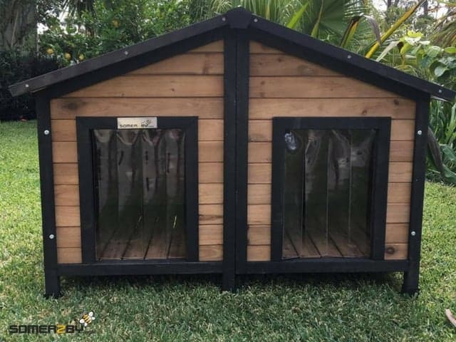 Solid Wood Dog Houses