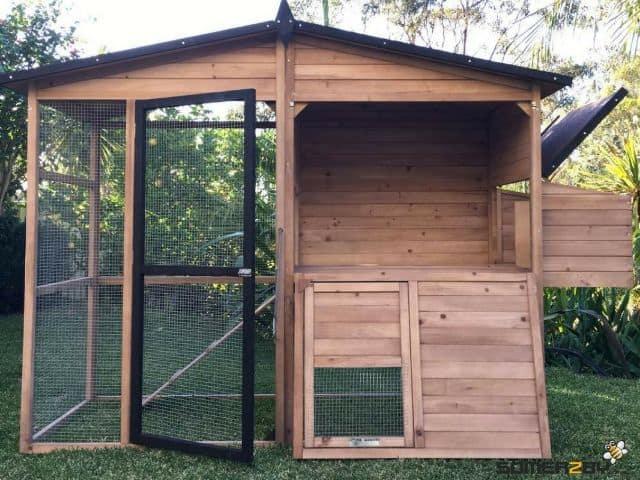 Somerzby Estate rabbit hutch door opening