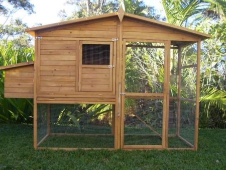 Somerzby Manor large chicken coop