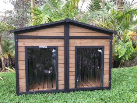 Spacious XX Large Dog Kennel Has Two Doors