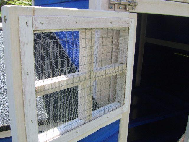 Wire mesh door