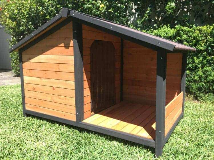 Xl Dog Beds >> Dog House - Somerzby Cubby Dog Kennel with Covered Porch