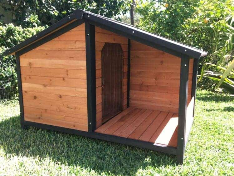 The Cubby Dog House gives you dog a place to escape the elements