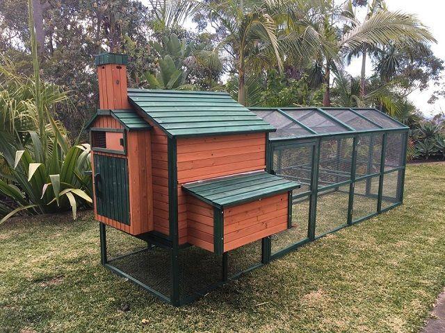 Somerzby resort for chickens