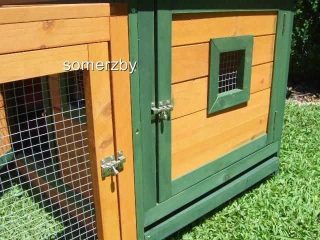 Cottage door and locks