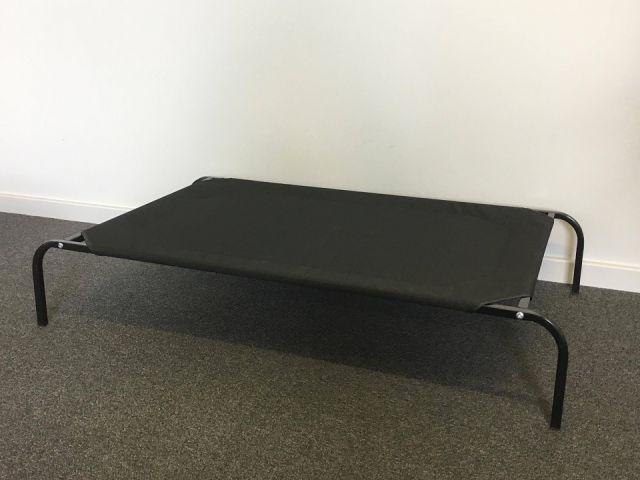dog trampoline bed black