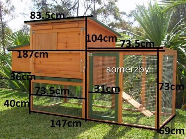 Guinea pig bungalow dimensions