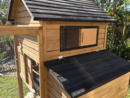 Roof of cabana