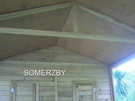 wooden build of homestead