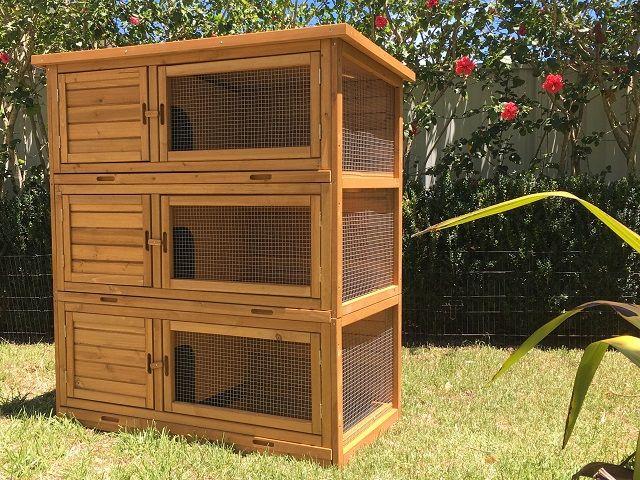wooden tri level build