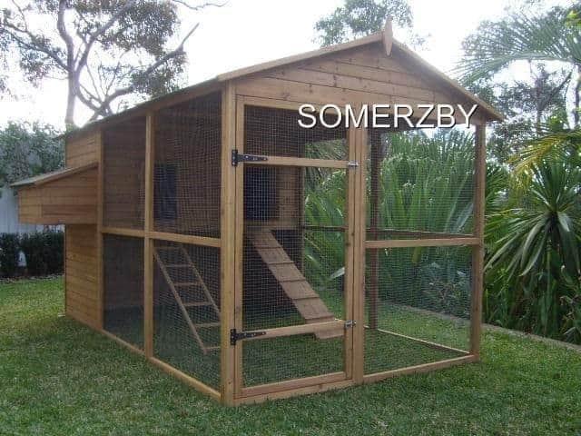Large Homestead Chicken Coop