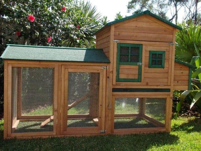 Super Deluxe Mansion Chicken Coop