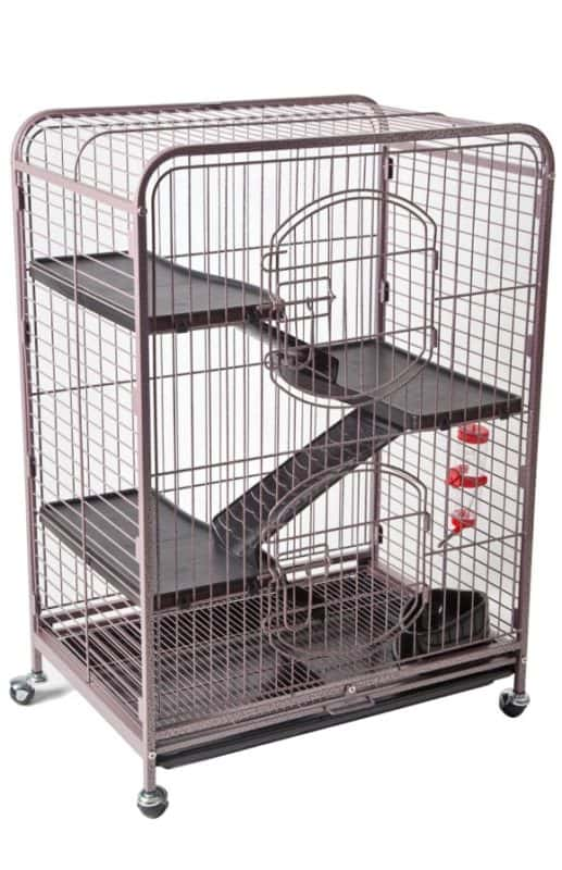 3 Level Ferret Cage - Cooper by Somerzby