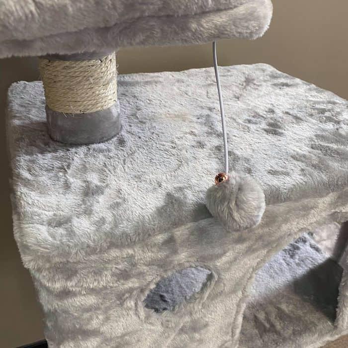 Grey Ashley Cat Tower
