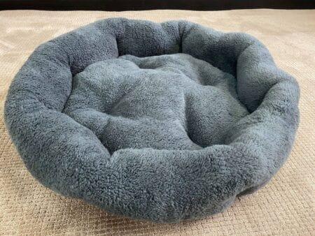 Large Grey Dog Bed
