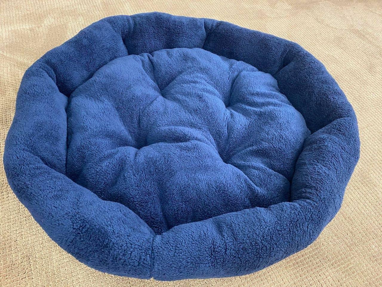XXL Blue Dog Bed